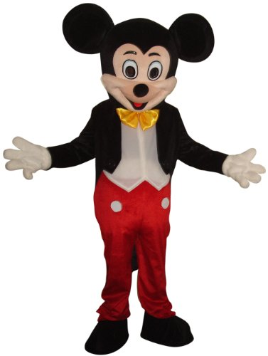 New Mickey Mouse Mascot Costume Adult Size Halloween Party Birthday -