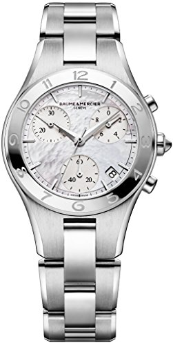 Baume-Mercier-Womens-MOA10012-Linea-Stainless-Steel-Watch