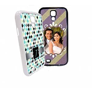 Personalized Photo Samsung Galaxy S4 Custom Picture on Hard Case Cover (White)