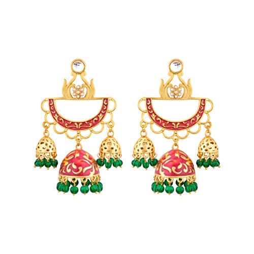 Voylla Noor-Jahan Regal Jhumkis For Women