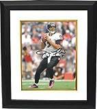 #7: Joe Flacco Signed Picture - 8x10 Custom Framed - Autographed NFL Photos