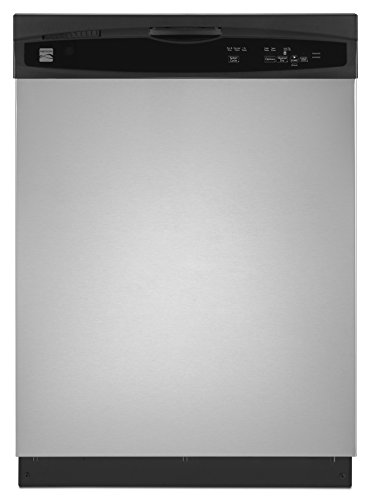 Kenmore 13803 24″ Built-in Dishwasher in Stainless Steel, includes delivery and hookup (Available in select cities)