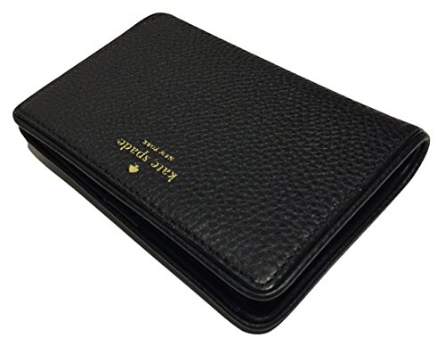 Kate Spade New York Chester Street Tellie Medium Wallet WLRU3047 (Black) by Kate Spade New York