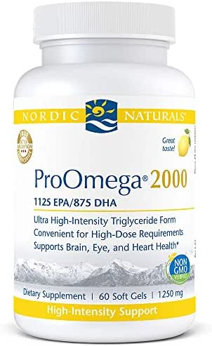 Nordic Naturals Pro - Proomega 2000, Highest-Concentration