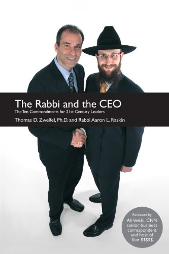 27c7a06daaa The Rabbi and the CEO  The Ten Commandments for 21st Century Leaders ...