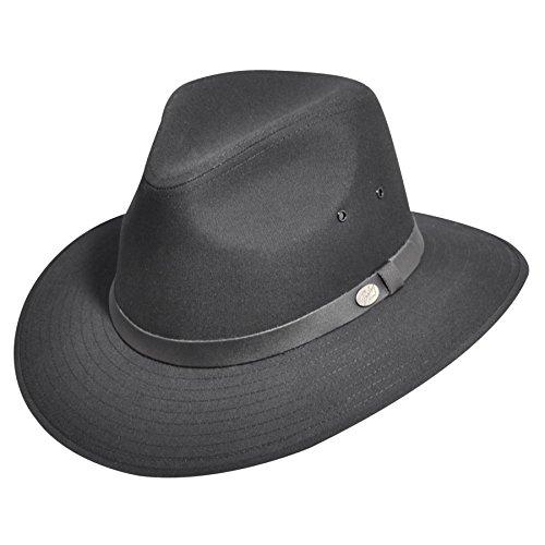 (Bailey Of Hollywood Men Dalton Safari Outback Black L)