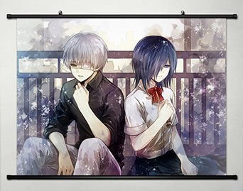 Tokyo Ghoul Wall Scroll Poster Fabric Painting For Anime Ken