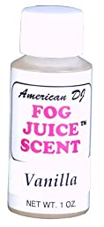 American Dj F-Scent Vanilla Scent For Water Based Fog Juice
