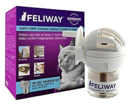 Feliway Classic Plug-in Diffuser and Refill (48 ml) by Feliway
