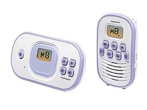 Topcom G00610 PMR Babyphone 1020 - Vigilabebés (hasta 2 km de alcance)