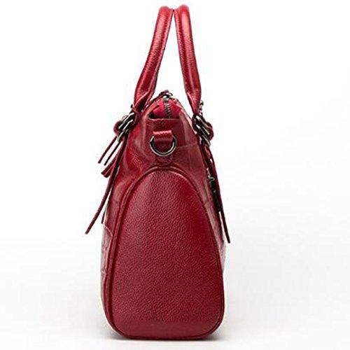 Femme à Main De Sacs Créateur Fourre Texture tout Crocodile Main à red Ladies Sacs Sacs rEAw5r