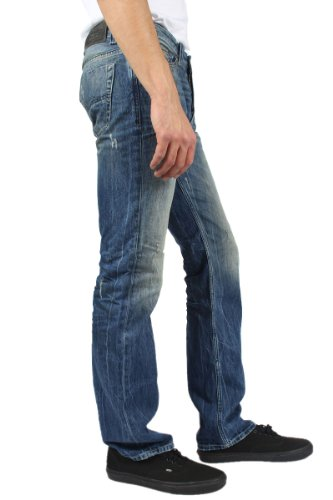 Diesel - Mens Viker Straight Leg Jeans In Wash: 0811I, Size: 32W x 32L, Color: Denim