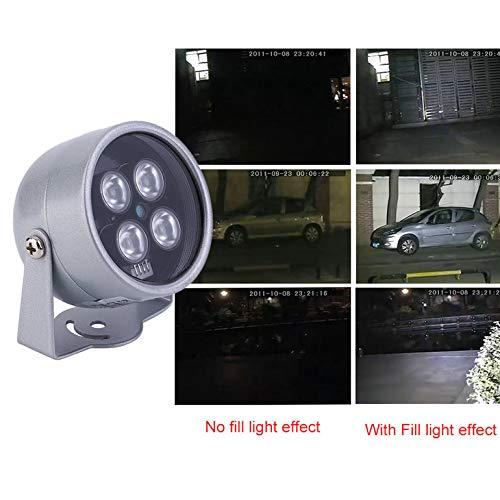 45 Degree Beam 4 LED Infrared Night Vision IR Light Bright Illuminat Lamp Professional For IP CCTV CCD Security Camera