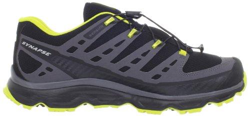 SALOMON Synapse Zapato de Senderismo Caballero Negro/Amarillo