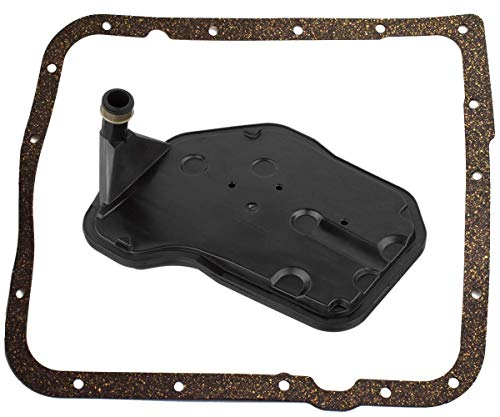 (4L60E Automatic Transmission Filter with Gasket Kit for Cadillac Buick Chevy GM Replace 24208576 24208813)