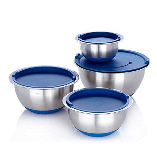 wolfgang puck stainless bowls - 3