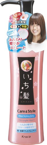 Kracie Ichikami Care & Style Jelly for Straight Hair 150g