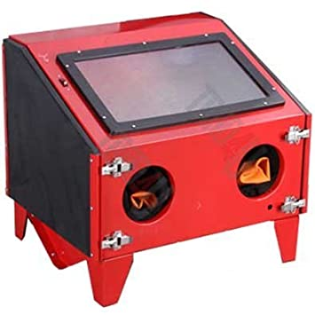 sbc 150 sand blasting cabinet portable table top model