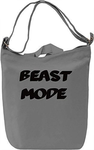 Beast Mood Borsa Giornaliera Canvas Canvas Day Bag| 100% Premium Cotton Canvas| DTG Printing|