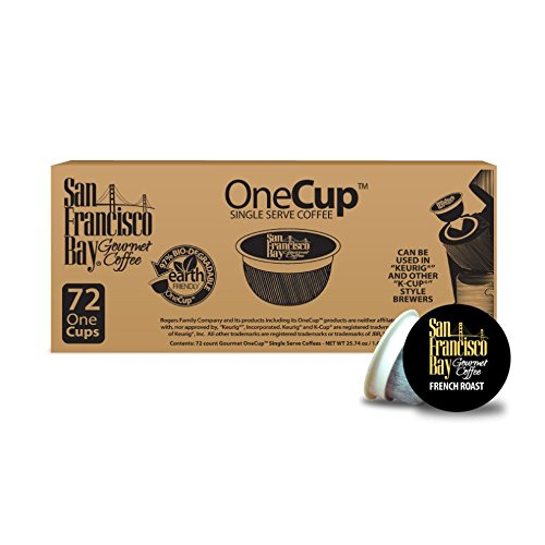 San Francisco Bay OneCup, French Roast, 72 Single Serve Coffees (Best Coffee Beans In San Francisco)