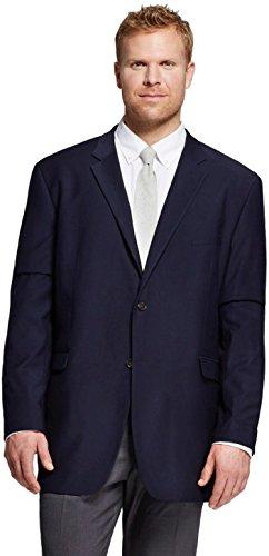 Merona Men's Big and Tall Classic Fit Suit Jacket (XXXLT, Federal (Washable Suit Jacket)