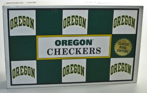 Rival Checkers (Oregon Checkers: The Classic Rival Edition (Ducks vs Beavers))