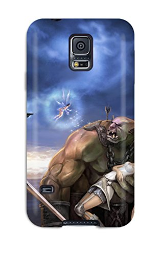 Protective Tpu Case With Fashion Design For Galaxy S5 (rappelz)