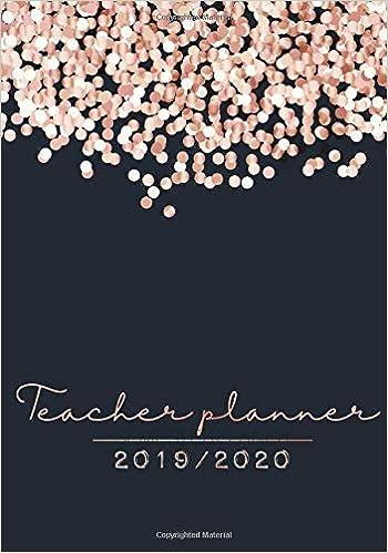 Teacher Planner 2019-2020: Agenda & Daily Academic Lesson ...