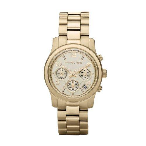 Michael Kors Midsized Chronograph Gold Tone Womens Watch MK5055 by Michael Kors
