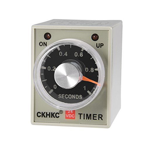 rminals Range Adjustable Delay Timer Time Relay AH3-2 ()