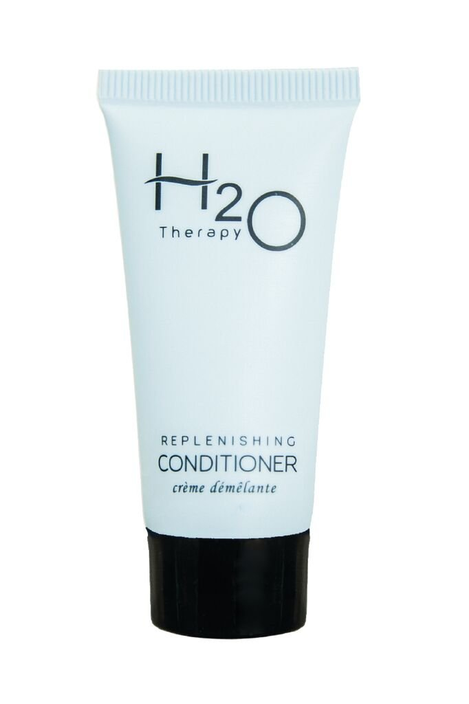 H2O Conditioner 1 oz. Hospitality/Travel Size Tube, Enriched with Organic Aloe and Honey (Case of 300) …