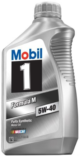 Mobil 1-CASE 5W-40 Formula M Motor Oil - 1 Quart Bottle, (Pack of 6) (Mobil One 5w40 compare prices)