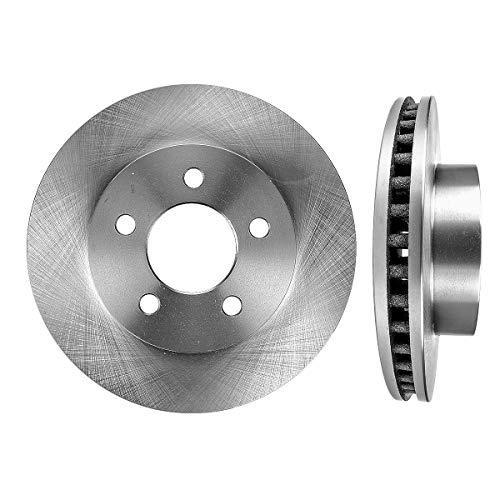(FRONT Premium Grade OE 288.04 mm [2] Rotors Set CBO200400 [ for Jeep Liberty 2002-2007 ])