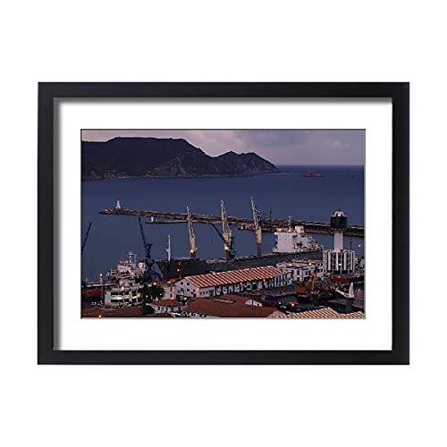 Media Storehouse Framed 24x18 Print of Port de Skikda Guerbes Alga?RIE (15450917)