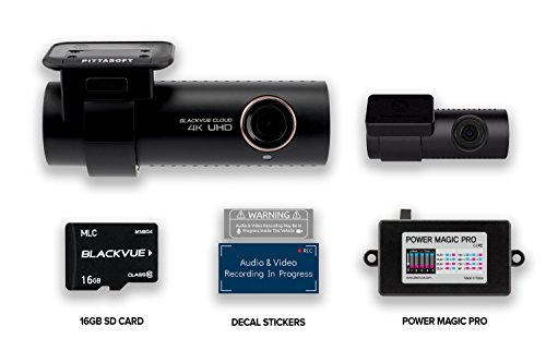 Blackvue DR900S-2CH + 16GB Micro SD Card + Power Magic Pro