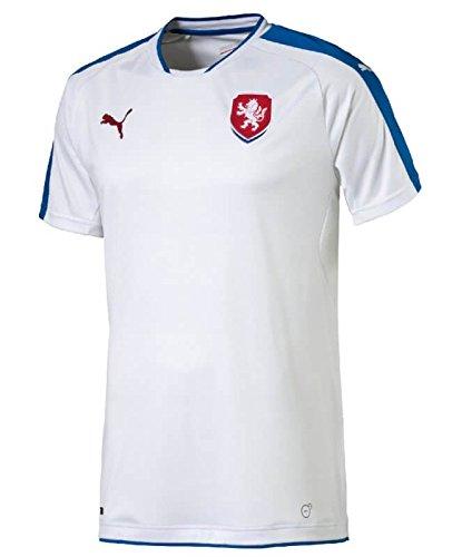 PUMA Czech Republic Euro Away Football Shirt 2016-17-Large Adults
