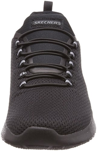 Skechers Mens Dinamight Low Top Shoes Nero Nero