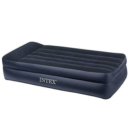 Air-Mattress-With-Pump-This-Intex-Raised-Twin-Size-Blow-Up-Airbed-With-Pillow-Rest-Electric-Pump-For-Two-Adults-Indoor-Or-Outdoor-Use-Raised-Inflatable-Bed-Is-Best-As-Camping-Or-Guest-Bed