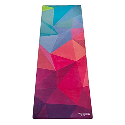 The Combo Yoga Mat. Luxurious, Non-slip, Mat/Towel Designed to Grip the More You Sweat! Two Products in One (Mat/Towel). Ideal for Bikram, Hot Yoga, Ashtanga, Pilates, or Sweaty Practice. Foldable, Reversible, Machine Washable, Eco-Friendly, Biodegradable