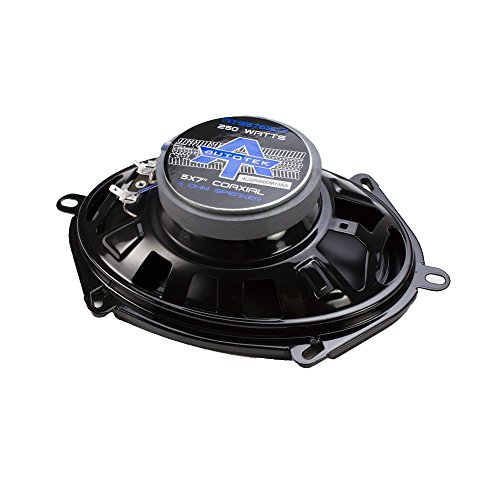 Autotek ATS5768CX ATS Coaxial Full Range Speaker, 5 x 7/6 x 8-Inch, Set of 2