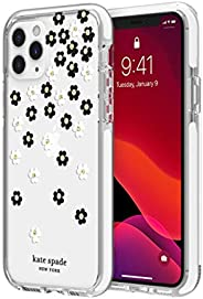 kate spade new york Scattered Flowers Case for iPhone 11 Pro - Defensive Hardshell with White Bumper, Scattere
