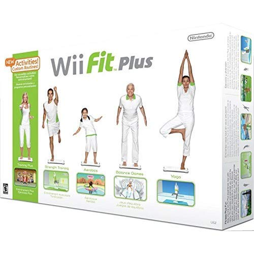 (Wii Fit Plus with Balance Board (Renewed))