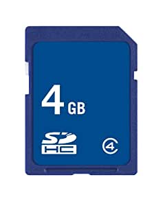 Easystore 4 GB Class 2 SDHC Flash Memory Card
