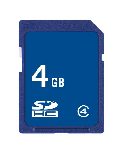 Easystore 4 GB Class 2 SDHC Flash Memory Card