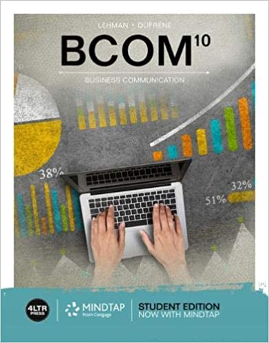 BCOM 10th Edition