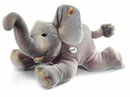 Steiff Trampili Elephant Plush, Grey by ()
