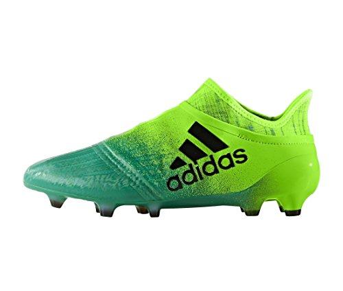 ... Bota de fútbol adidas X 16+ Purechaos FG Solar green-Core black Solar  green ... bd9e25689afa2