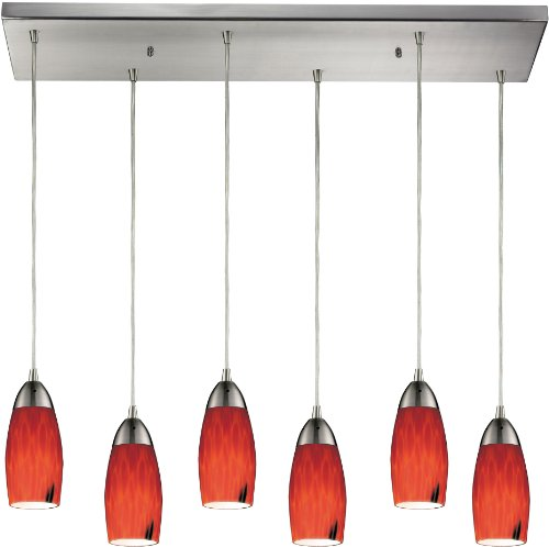 Martini Glass Pendant Light - 4