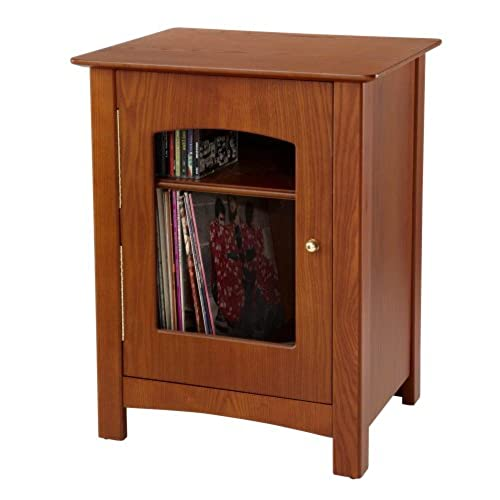 Elegant Crosley ST75 PA Bardstown Entertainment Cabinet, Paprika