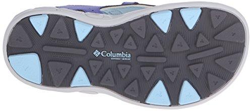 Columbia Youth Techsun Vent - Sandalias Unisex adulto Multicolor - Multicolor (Purple Lotus/Sky Blue)
